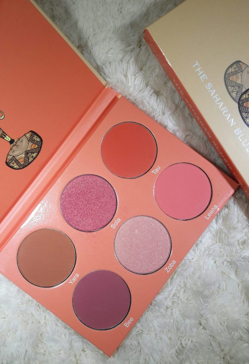 Juvia's Place Saharan Blush Vol. II Review