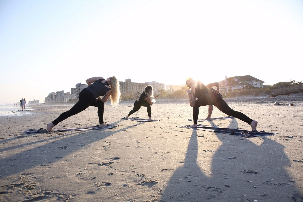 beach exercise
