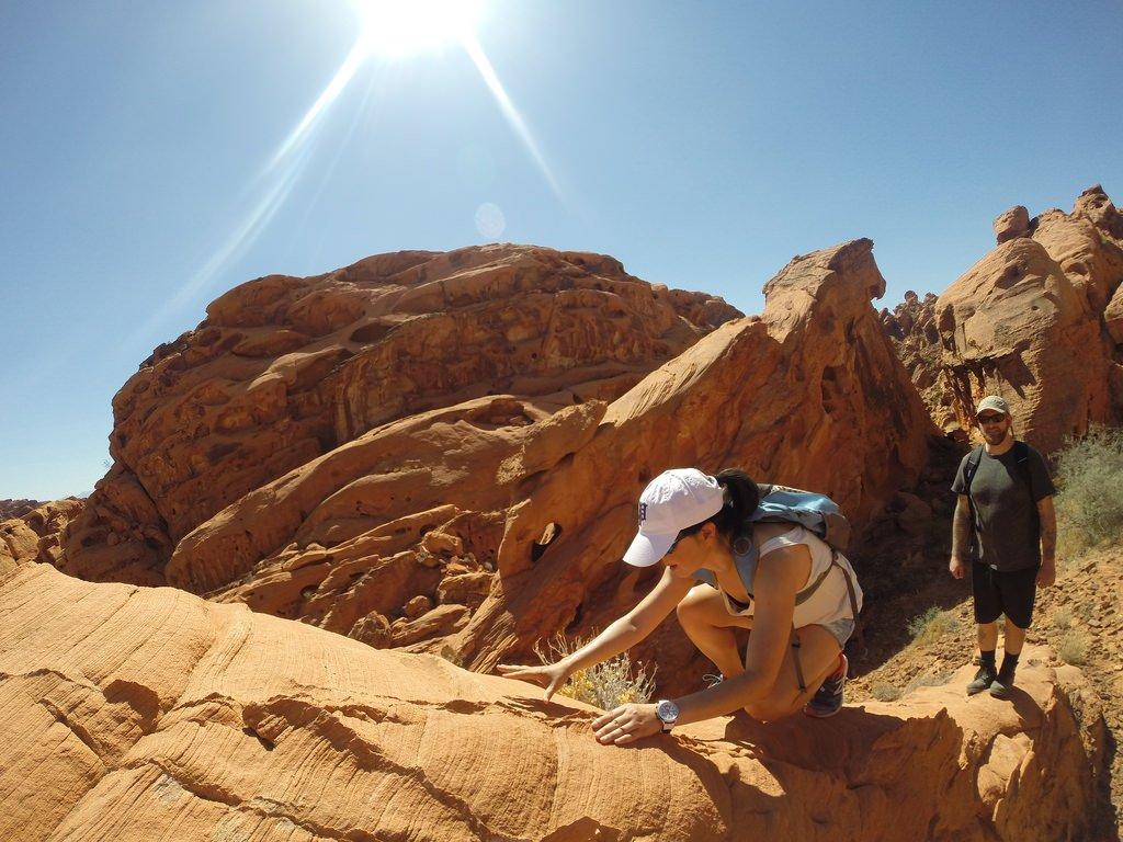 cliff climb