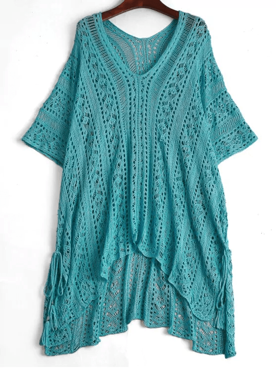 Open-Knit-Beach-Poncho-Cover-Up-Dress