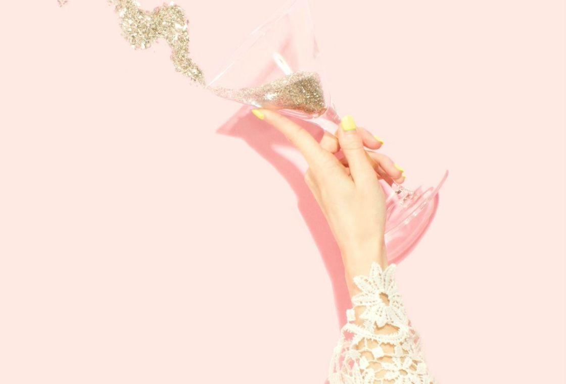 pastel champagne
