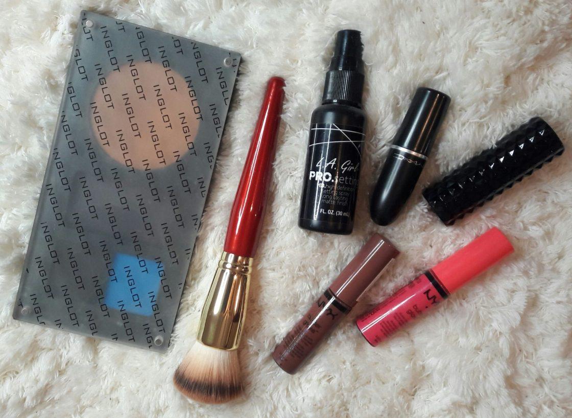 inglot msakeup, nyx cosmetics, juvias place, mac cosmetics, la girl cosmetics