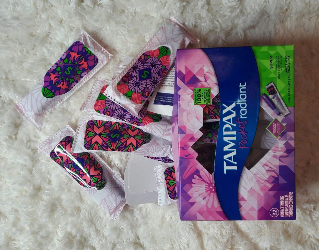 Tampax Radiant Refresh, Tampax Tampon