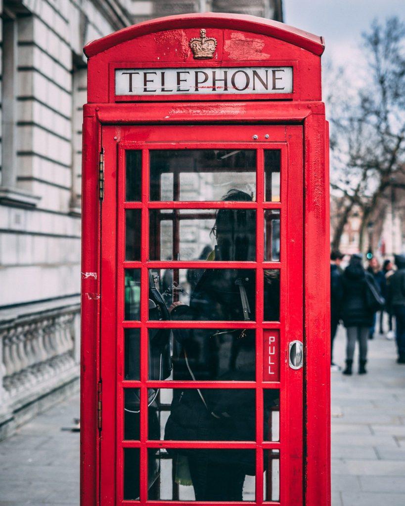 smartphones, phone booths