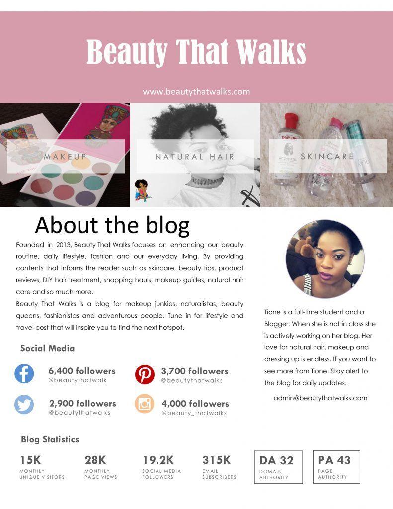 Media Kit, Work With Me, Sponsored Post