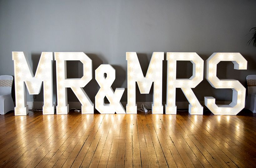 wedding sign, venue