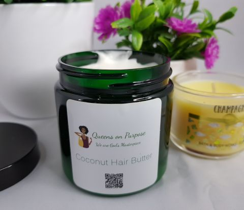 Queens on Purpose Coconut Hair Butter