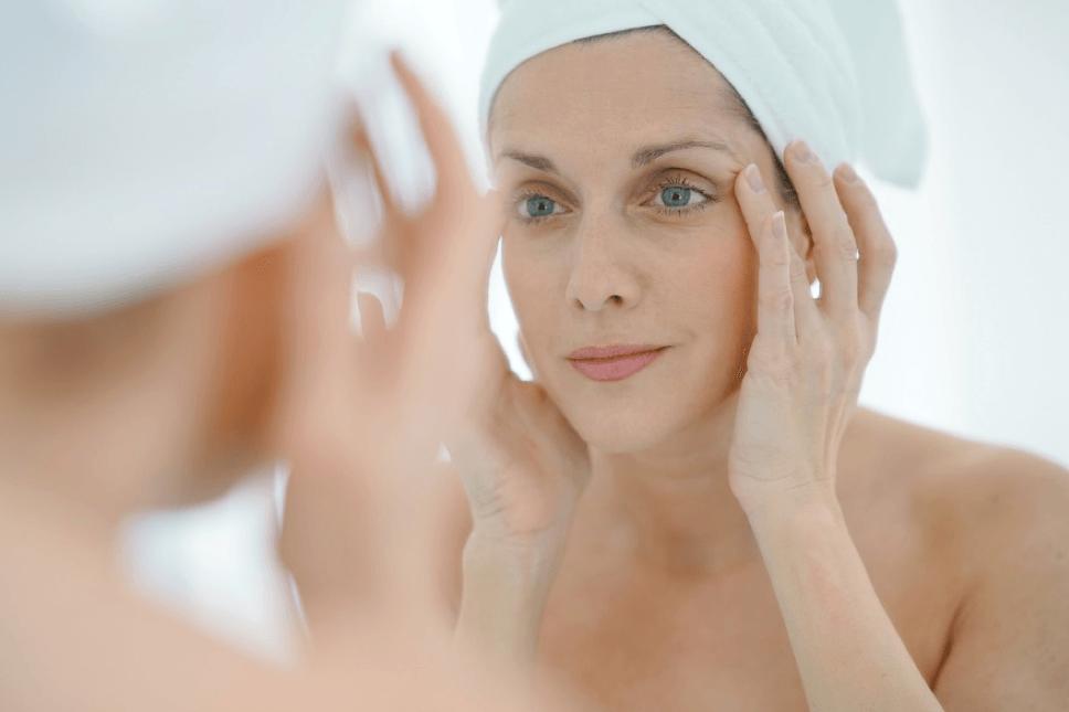aging, facial serum