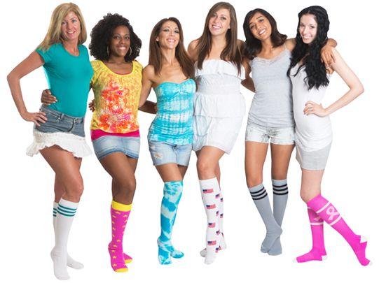 Chrissy's Socks, knee high, thigh high socks