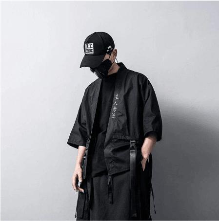 streetwear fashion kimono