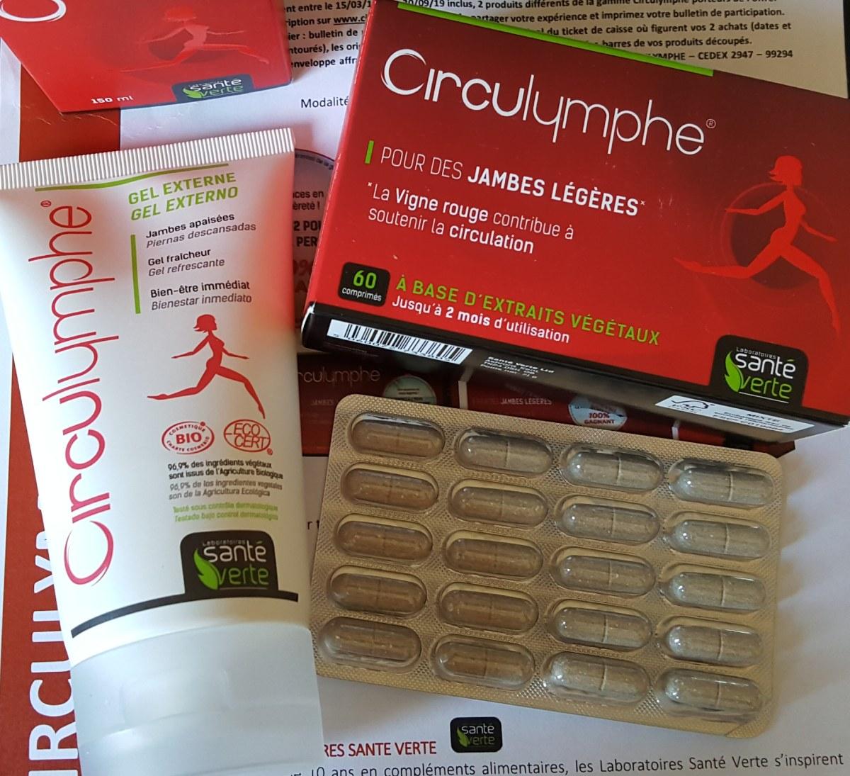 Le bien-être et la légèreté naturelle des jambes avec Circulymphe