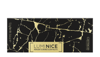 Catrice Luminice Highlight & Bronze Glow Palette Front View Closed