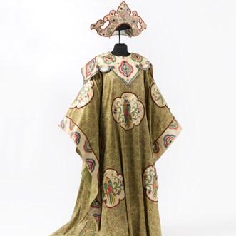 Luigi Sapelli (in arte Caramba) Costume di una delle Ancelle di Turandot Torino, Sartoria Devalle