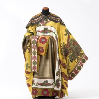 Luigi Sapelli (in arte Caramba) Costume dell'Imperatore Altoum Torino, Sartoria Devalle