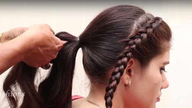 easy & beautiful bridal hair style tutorials 2018 || new