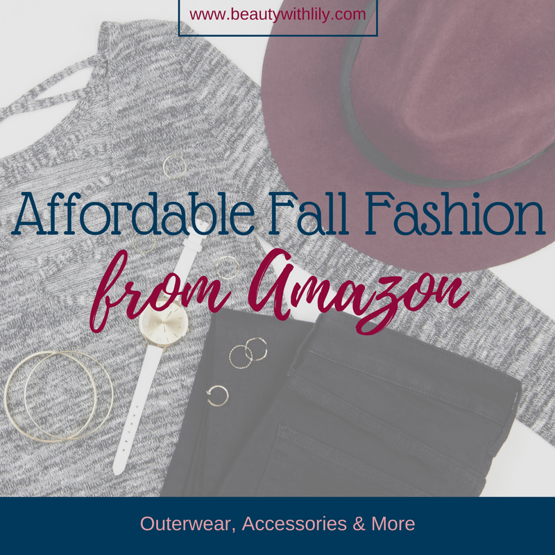 Affordable Amazon Fall Fashion | Beauty With Lily