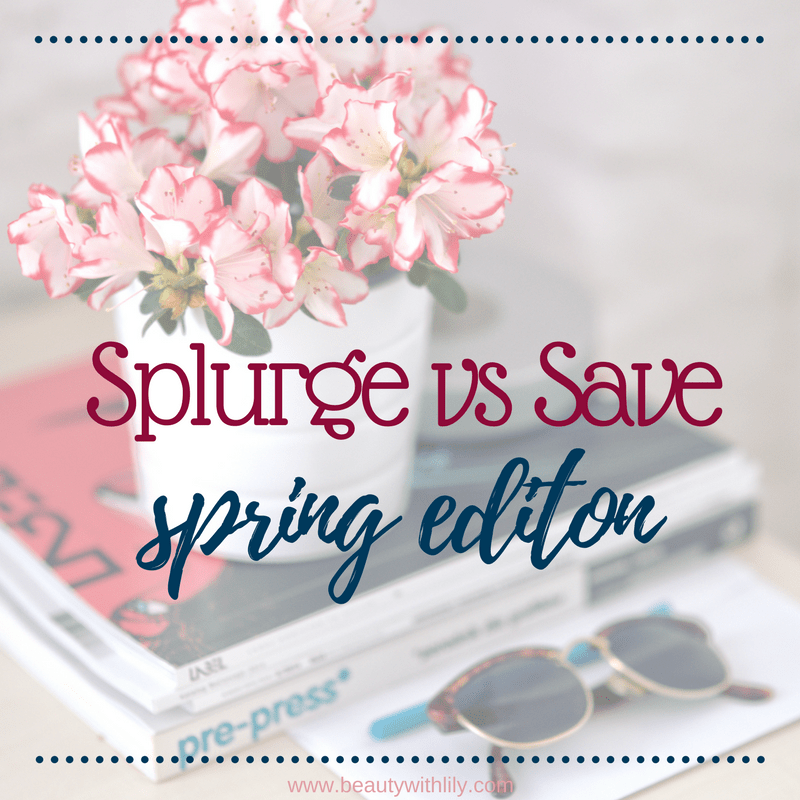 Splurge vs Save Spring Edition // Spring Trends // Designer Dupes | Beauty With Lily