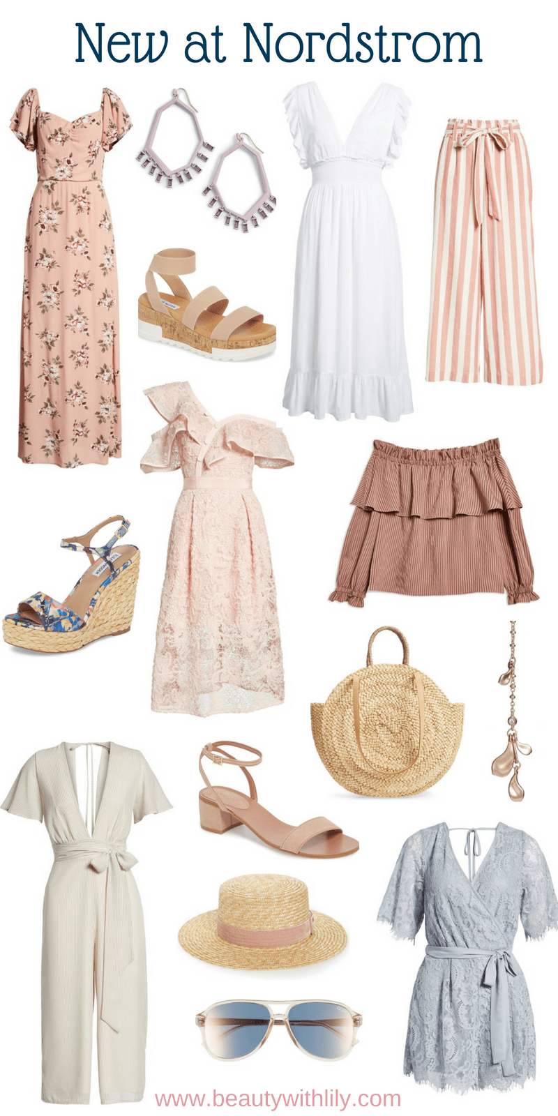 New At Nordstrom // New Nordstrom Arrivals // Summer Fashion // Spring Fashion | Beauty With Lily #summerfashion #nordstrom