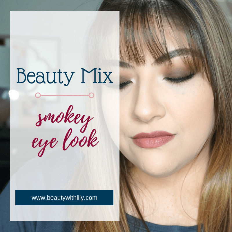Smokey Eyeshadow Look // Easy Smokey Eye // Fall Makeup // Easy Makeup // Plum Eyeshadow Look | Beauty With Lily