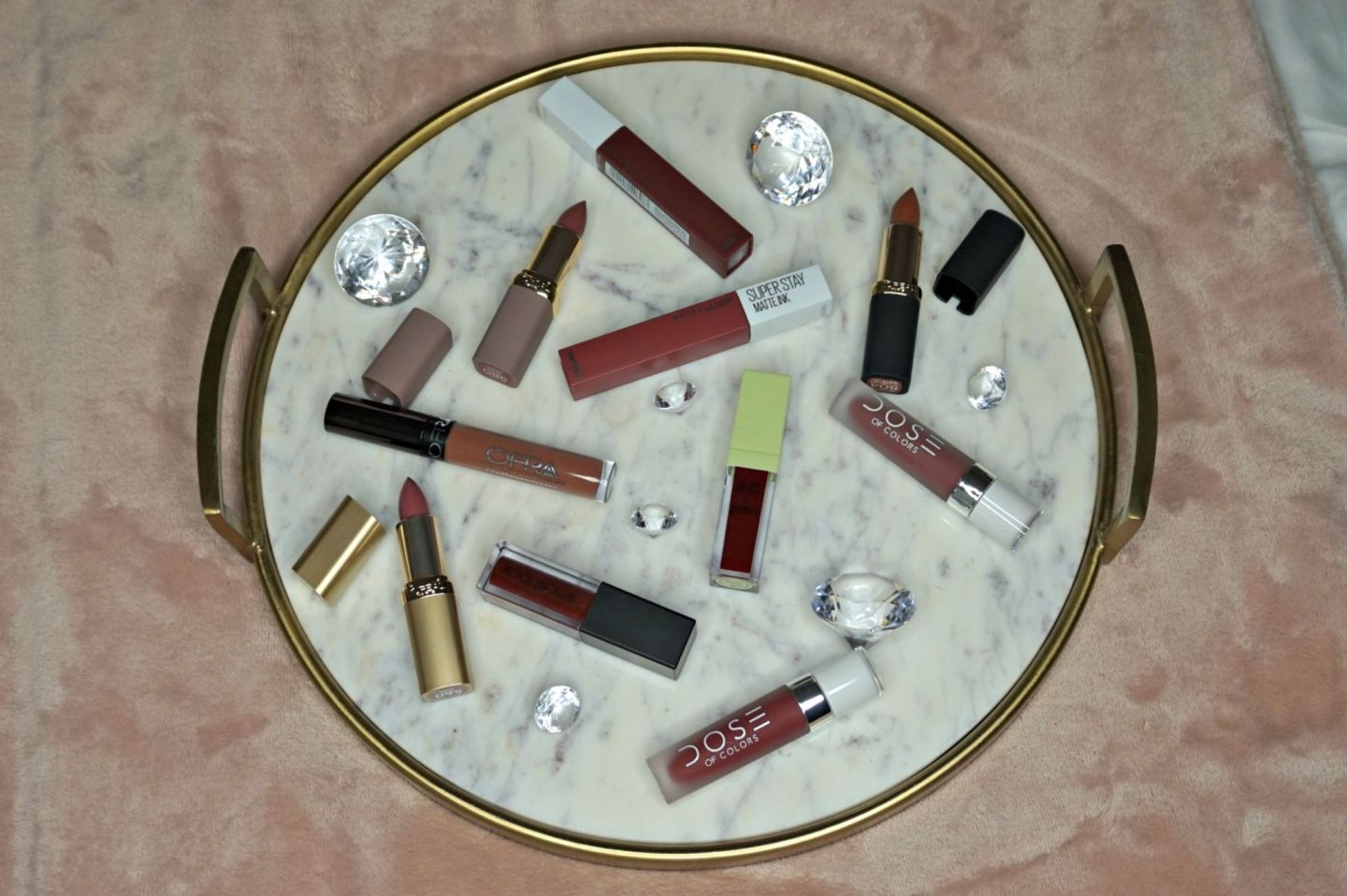 Must Have Winter Lip Colors // Nude Lip Colors // Mauve Lip Colors // Vampy Lip Colors // Lipsticks To Try   Beauty With Lily