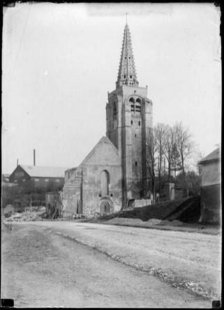 Démolition de l'ancienne église
