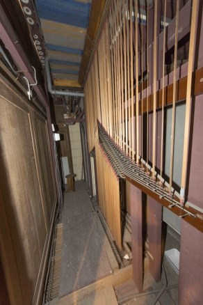 orgues - intérieur