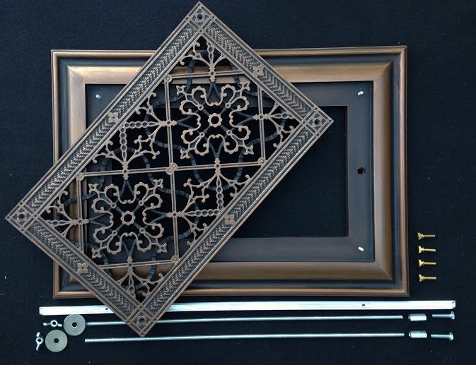 Foundation Grilles  Crawl Space Vent Covers in Arts and Crafts Style  BeauxArts Classic Products