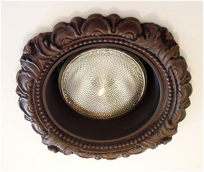 6 victorian style recessed light trim lr 101