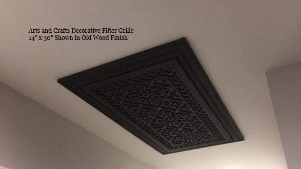 Filter Return Grille Air