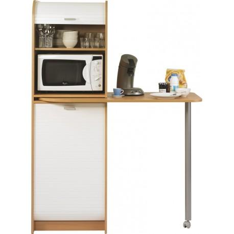 table de cuisine et meuble rangement