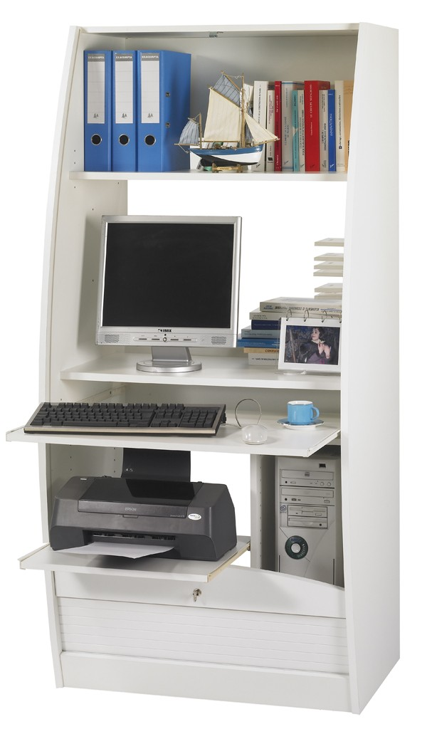 armoire informatique galbee 80 cm