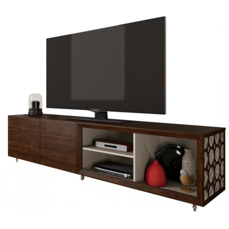 meuble tv 84 pouces maxi wenge et ecru beaux meubles pas chers