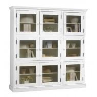 bibliotheque blanche 9 portes vitrees bibliotheque blanche 9 portes vitrees