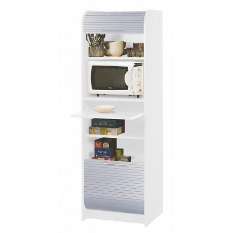 meuble de cuisine micro onde blanc alu beaux meubles pas chers