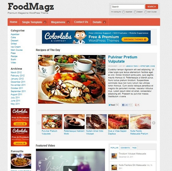 foodmagz-theme-wordpress-premium