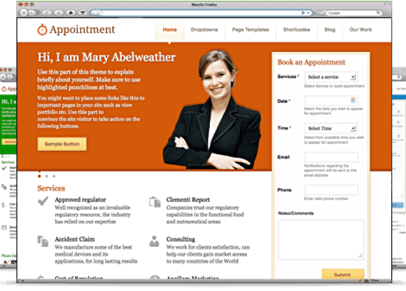 appointment-theme-wordpress-premium