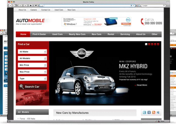 automobile-theme-wordpress-premium