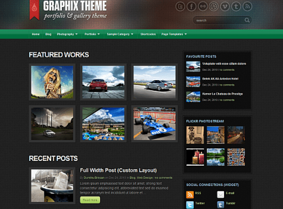 graphix-theme-wordpress-premium