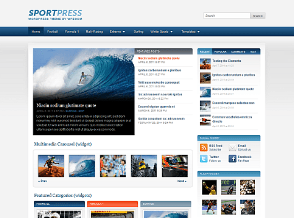sportpress-theme-wordpress-premium