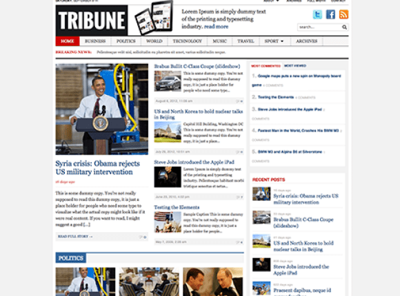 tribune-theme-wordpress-premium