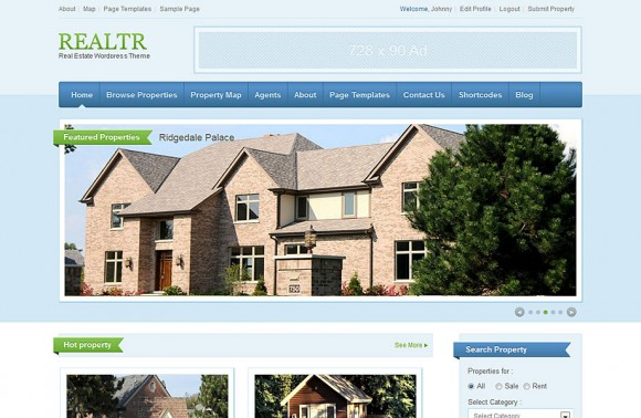 realtr-theme-wordpress-immobilier