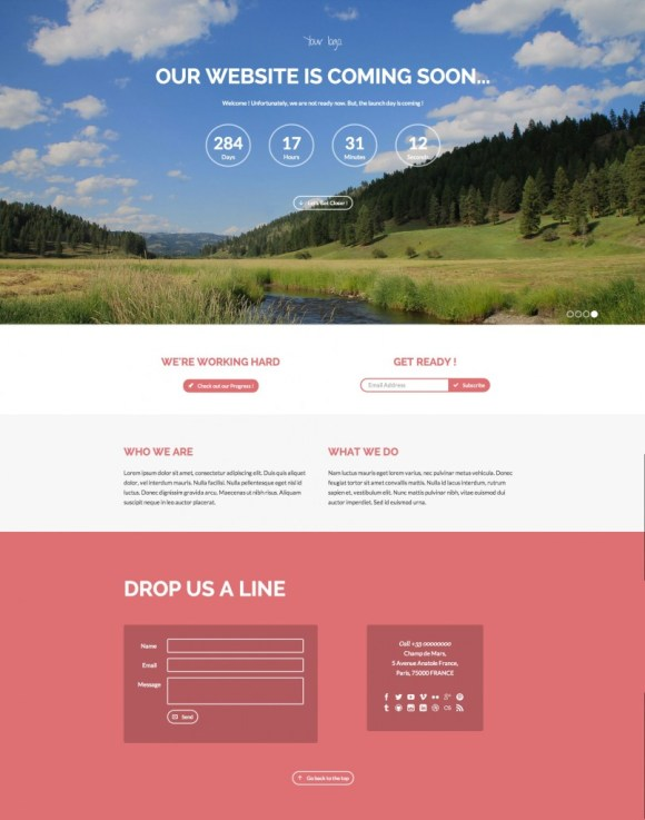 dday-template-html-coming-soon