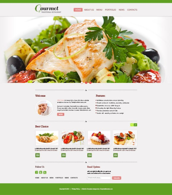 gourmet-template-html-restaurant-fast-food