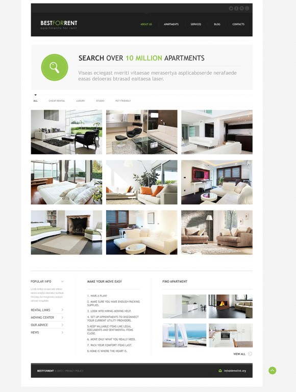 aparmentsforrent-template-joomla-immobilier
