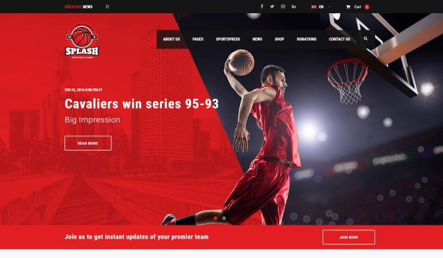 splash-theme-wordpress-site-sport