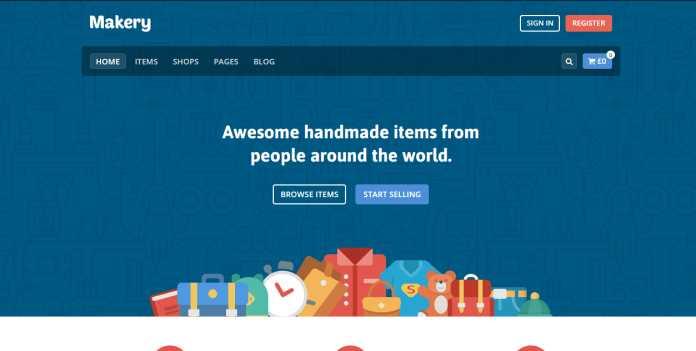 thème wordpress ecommerce makery