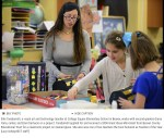 Photo of Ellie Taraborrelli taken by Lucy Schaly of the Beaver County Times