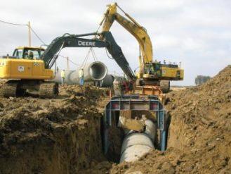Landfill Reservoir Construction  The Beaver Excavating