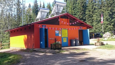 Campground Washroom