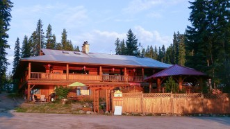Suite 1 is located in main lodge